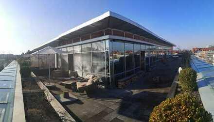 LICHTDURCHFLUTETES LUXUS-PENTHOUSE im SUPERCOOLEN LOFT-STIL mit ca.180 m², THALKIRCHEN/OBERSENDLING