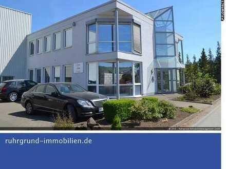"""zu vermieten: Produktionshalle mit modernem Bürogebäude """"Auf der Hofestatt""""!"""