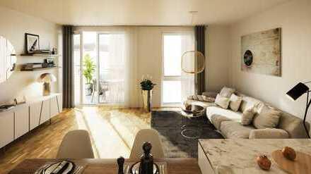 2-Zimmer Wohnung mit Balkon in zentraler Lage!