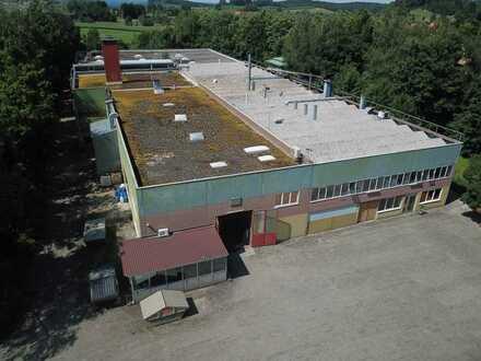 Nähe Weingarten Multifunktionale Gewerbehalle mit großzügigen Produktionsflächen