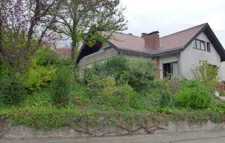Sehr schön gelegenes geräumiges Ein-/ Zweifamilienwohnhaus, Rhein-Neckar-Kreis, Lobbach-Wa.