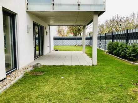Hochwertige, stadtnahe 3 Zimmer-Wohnung mit schönem Garten