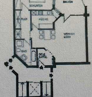 800 €, 75 m², 2,5 Zimmer