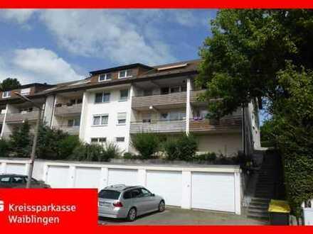 Gepflegte, modernisierte Wohnung in toller Ausschtslage von Schorndorf!