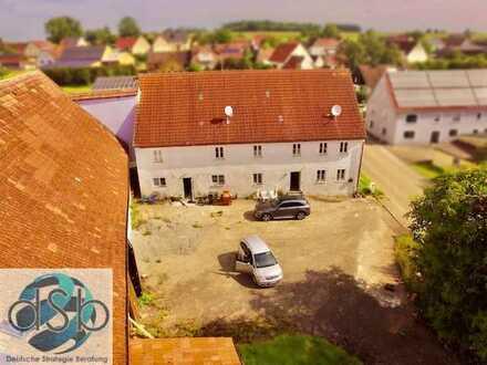Charmantes, großes Landhaus vor den Toren Dinkelsbühl