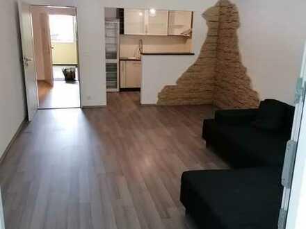 Exklusive, gepflegte 2-Zimmer-Hochparterre-Wohnung mit Balkon und EBK in Gröbenzell