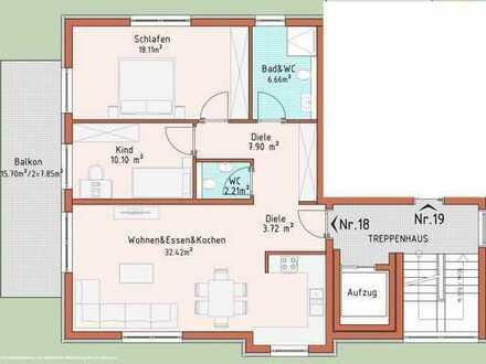 Neubauprojekt Harthausen - Haus 3 - Wohnung 18