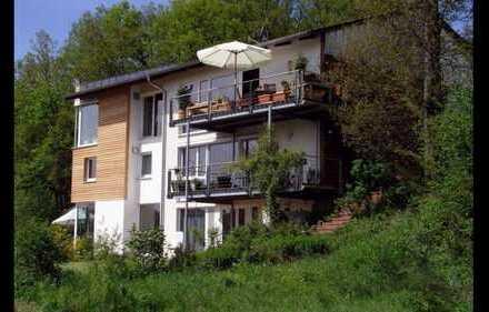 wunderschöne Loft Wohnung mit Blick ins Grüne