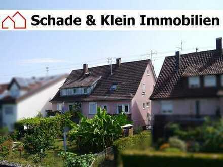 großes Zweifamilienhaus mit Garage in Oberboihingen