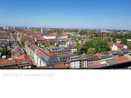 Schöne 4 Zimmerwohnung in KA-Weststadt mit traumhaften Ausblick über Karlsruhe!