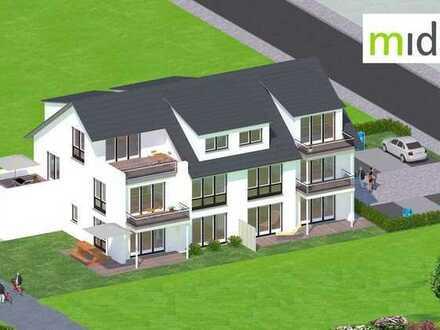 Vorankündigung: Midori. Geräumige 4 Zimmer-Penthouse direkt am Feldrand in ruhiger Lage gelegen