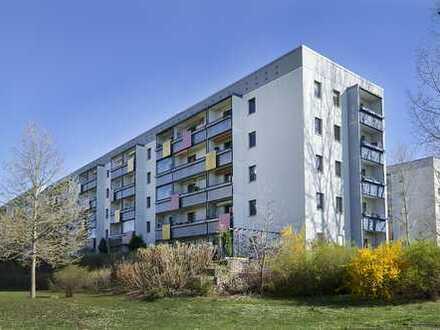 Maisonette-Familienwohnung mit 2 Balkonen und Kfz-Stellplatz direkt vor der Tür