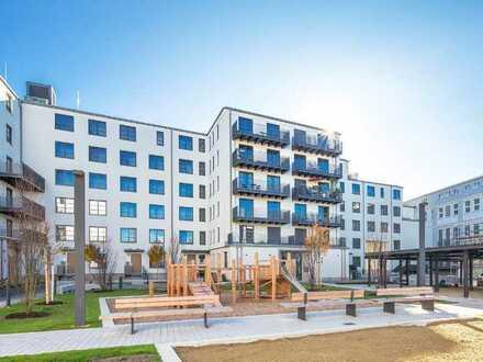 MAIER - Neues Sendling: Neubau! Townhouse mit Südgarten und eigenem Eingang!