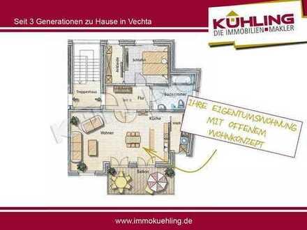 Großzügige 2 oder 3- Zimmer-Neubauwohnung in zentraler Lage