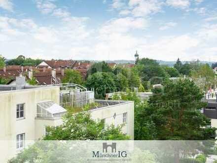 MÜNCHNER IG: Freie & Helle schöne 2-Zimmerwohnung mit traumhaften Panoramablick !