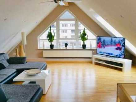 Erstbezug nach Sanierung mit Einbauküche und Balkon: schöne 4-Zimmer-Maisonette-Wohnung in Donzdorf