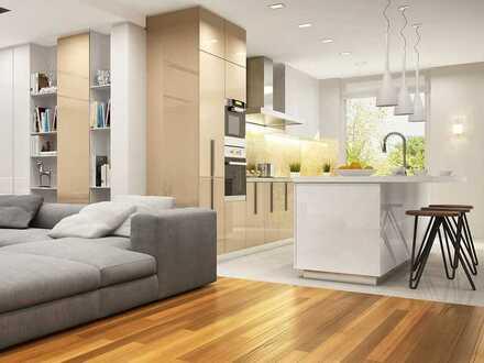 Großzügige 3-Zimmer-Wohnung mit Balkon und Panorama-Fenstern in attraktiver Hanglage
