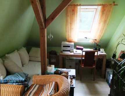 2-Raum-Wohnung mit Dachterrasse, 2 zusätzlichen halben Zimmern und Gäste WC