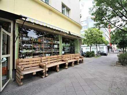 Moabit: Zwinglistr.: Einzelhandels-/Gastrofläche, ca. 92 m², derzeit Kiosk per SOFORT zur ÜBERNAHME