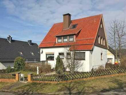 Freistehendes Einfamilienhaus mit Garage in Friedland - Reckershausen
