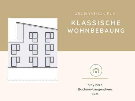 Grundstück für klassische, schlichte oder elegante Wohnbebauung