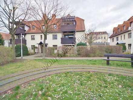 Achtung!! hist.Ortskern Probstheida! 2-Zi-Whg./Terrasse+eig.Garten/ EBK/TG-Stellpl./ges.:532 EUR