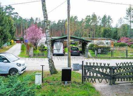 Großzügiges Baugrundstück mit Abrissobjekt in idyllischer Waldrandlage!