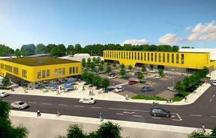 Zentral in Hauptbahnhofnähe - das neue Nahversorgungszentrum in Nördlingen