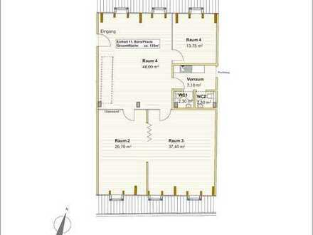 Provisionsfrei vom Eigentümer: Modernes Büro mit Aufzug am Marktplatz von Grafing b. München (S4)