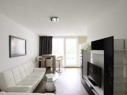 Möblierte, helle 1-Zimmer-Wohnung im Westend