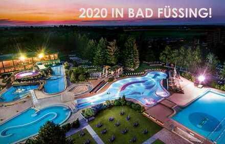 2020 in BAD FÜSSING: Helles 2-Zimmer-Appartement