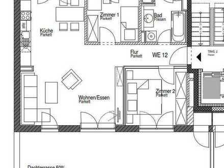 3-Zimmer-Wohnung mit wunderschöner Dachterrasse