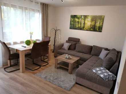Vollständig renovierte und Möblierte 2-Raum-Wohnung mit Balkon und Einbauküche in Bad Wildbad