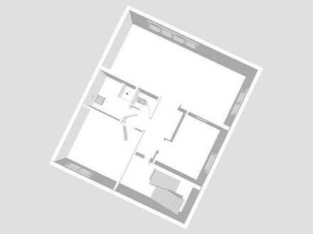 Großes Wohn-/Esszimmer, Schlafzimmer, Küche