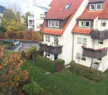 ! attraktive 3-Zimmer-Maisonettewohnung mit komfortablen Tiefgaragenstellplatz !