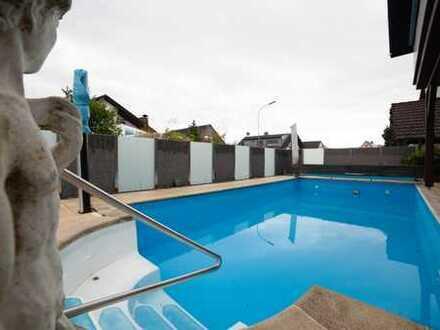 Traumhafte, grenznahe 4,5-Zimmer-Wohnung mit Pool in Wehr