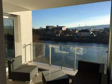 Attraktive Wohnung mit direktem Moselblick u. Anbindung nach Luxemburg