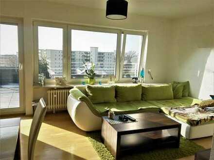 AUKTION--helle 2 Zimmer Penthouse-Wohnung mit Garage in Immenstaad