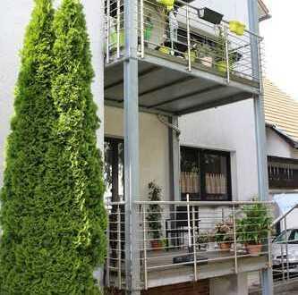 Gepflegte 3-Zimmer-Wohnung mit Balkon in Homburg-Erbach