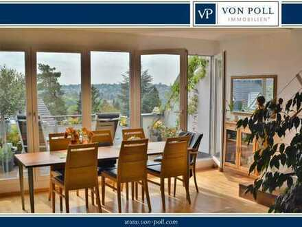 Vermietete 2-Zimmer-Maisonettewohnung mit bester Aussicht