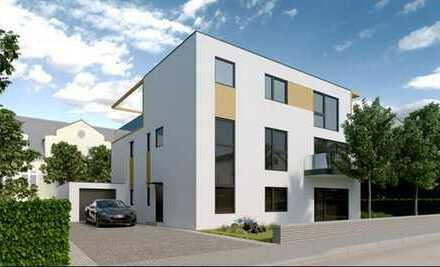 *NEUBAU Penthouse Wohnung, in 3 Familienhaus mit Skylineblick*