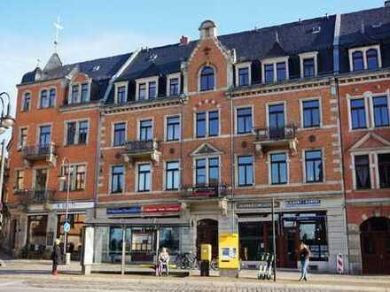 www.r-o.de +++ Geräumige 3-Zimmerwohnung mit Parkettboden direkt am Körnerplatz