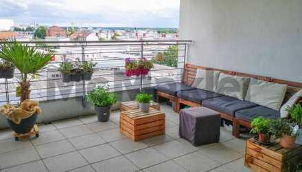 Top-Lage in Fürth: Moderne 3-Zi.-ETW mit großer Loggia, Balkon und TG-Stellplatz
