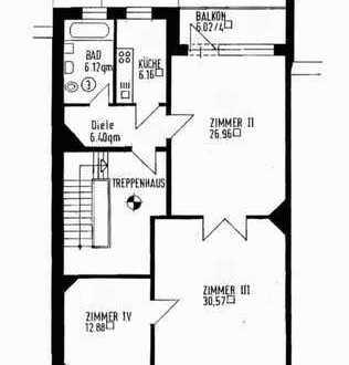 Gepflegte 3-Zimmer-Wohnung mit Balkon in Bremen