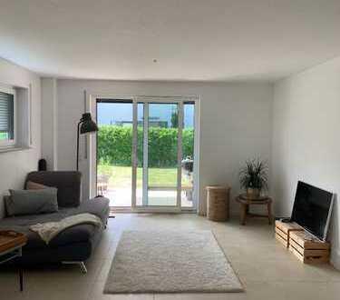 Helle 4-Zimmer-Maisonette-Wohnung mit Terrasse und Garten