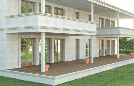 Neubau Erdgeschosswohnung mit 250 m² Garten in Traumlage