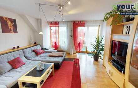 Helle 3 Zimmer Maisonette Wohnung in Neugablonz