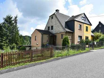 Doppelhaushälfte in Burkhardtsdorf
