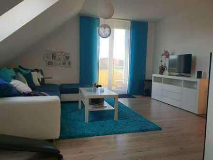 Gepflegte 3-Zimmer-Dachgeschosswohnung mit Balkon in Wangen im Allgäu