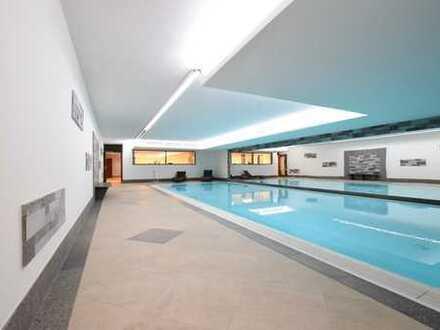 Top ausgestattete Panoramawohnung mit Rheinblick, inkl. Wellness, Schwimmbad und Sauna